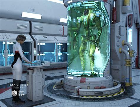 Sci-fi Lab By Petipet Daz studio Science Fiction
