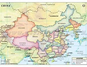 Buy China States Map