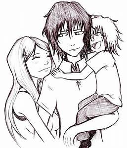 Ulquihime family hug by Chibi-Twilight on DeviantArt