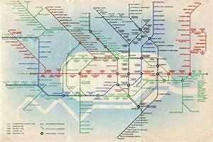 Historical Map  The  U201cz U00e9r U00f3 U201d London Underground