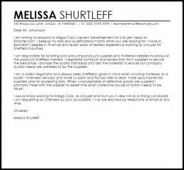 Quality Resume Templates Sle Cover Letter For A Buyer Cover Letters Livecareer