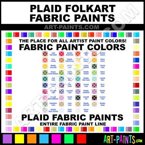 plaid folkart fabric textile paint colors plaid folkart