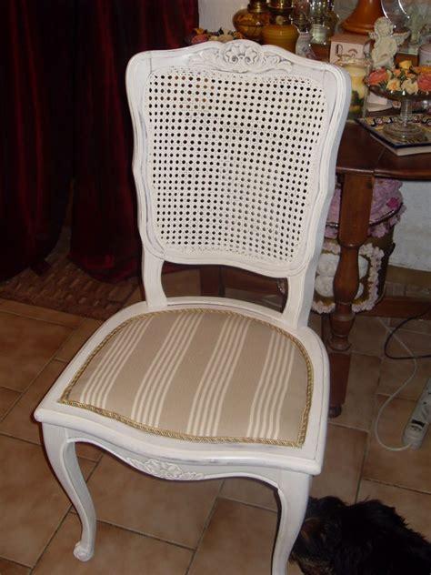 rue de la chaise relooker une chaise cannee atelier retouche