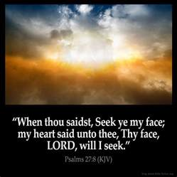 Inspirational Bible Verses Psalms 27 1 KJV