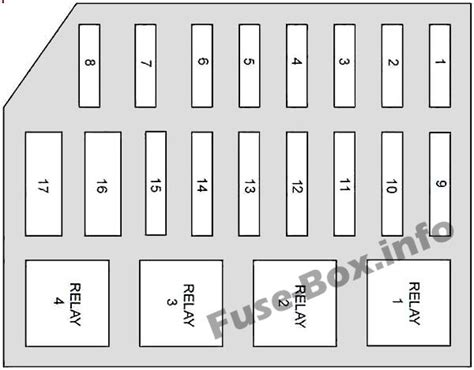 Fuse Box Diagram For 1997 Mercury Grand Marqui by Fuse Box Diagram Gt Mercury Grand Marquis 1992 1997