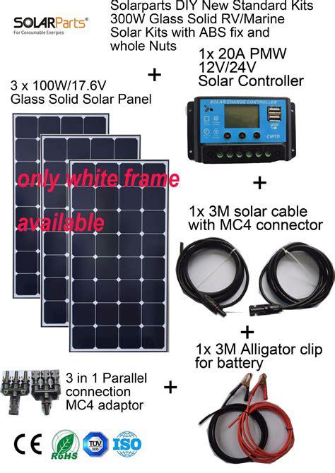 aliexpress buy solarparts 3x100w monocrystalline