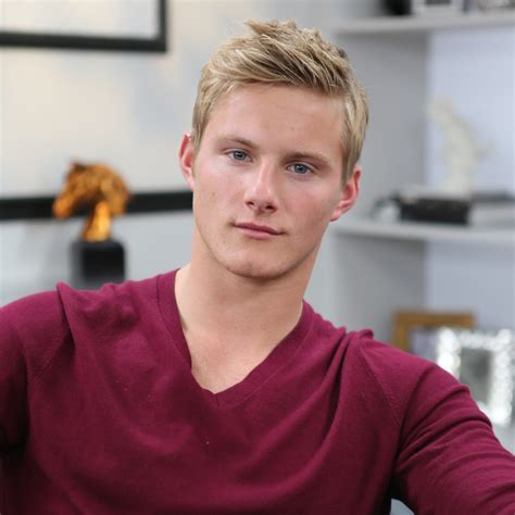 Alexander Ludwig Vikings Interview   Video   POPSUGAR