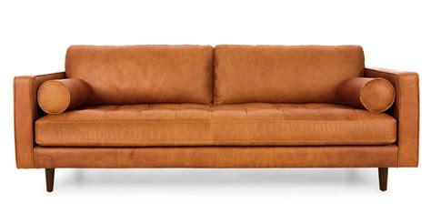 mid century leather sofa leather mid century sofa gorgeous leather mid century sofa