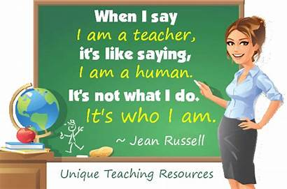 Teacher Am Say Sayings Quote Quotes Saying