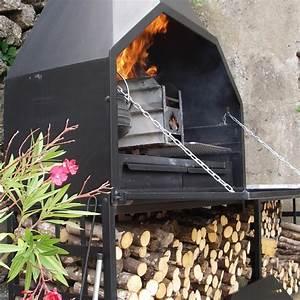 Barbecue A Poser : braai barbecue bois sud africain fs1200 pr t poser ~ Melissatoandfro.com Idées de Décoration