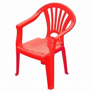 Chaise Enfant Rouge SUN SPORT King Jouet Maisons