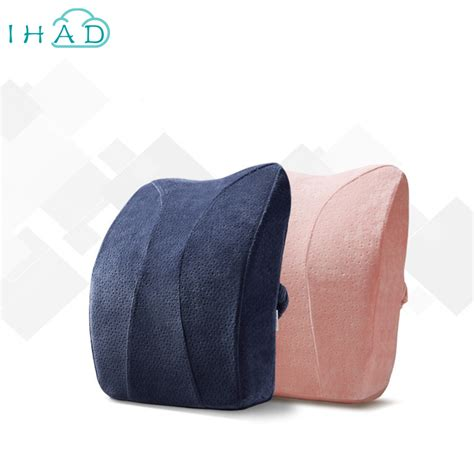 coussin lombaire chaise bureau arch design office cushion lumbar memory foam profession car seat pillow back cushion lumbar