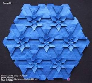 Elegant Origami Tessellations Diagrams