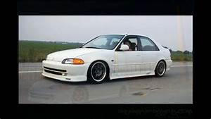 Honda Civic 1992 Modified