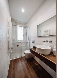 awesome photo petite salle de bain moderne ideas amazing With petite salle de bain deco