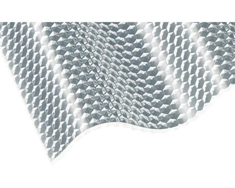 Acryl Wellplatte Sinus 7618 Wabe Klar 3x1045x2500 Mm