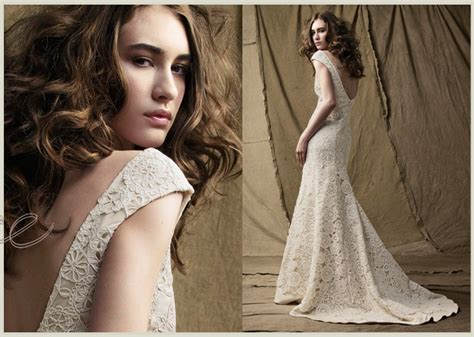 Doily Inspired Wedding Gowns