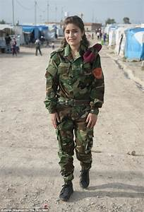 ISIS-fighting female Kurdish soldiers refusing to fight ...