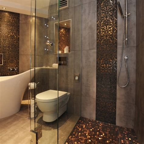 unique bathroom tile ideas unique accent wall tiles bathroom ideas