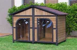 pet house direct With 2 door dog house