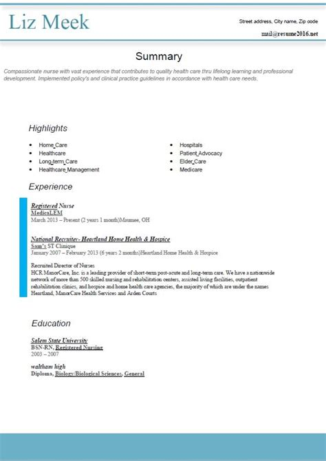 preferred resume format best resume gallery