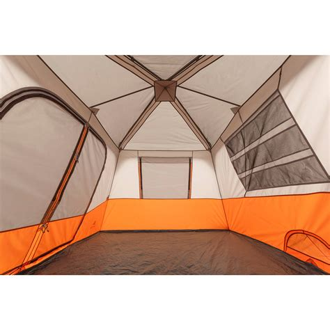 ozark trail 8 person instant cabin tent ozark trail instant 13 x 9 cabin cing tent sleeps 8