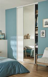 Porte Coulissante Placard Miroir : des portes de placard coulissantes leroy merlin ~ Melissatoandfro.com Idées de Décoration