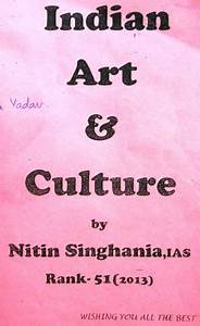 Indian Art Culture Hand Written Lecture Notes PDF by Nitin ...
