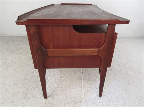 floating desk for sale mid century modern kai kristiansen style danish teak