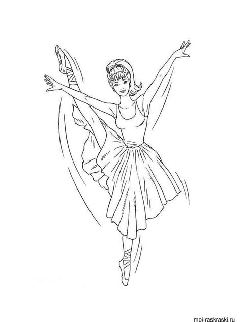 ballerina coloring pages   print ballerina
