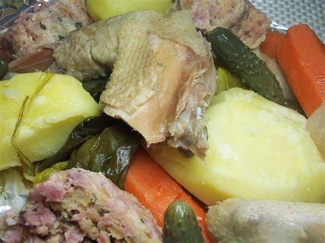 cuisine poule au pot recettes de poules de la cuisine de josette