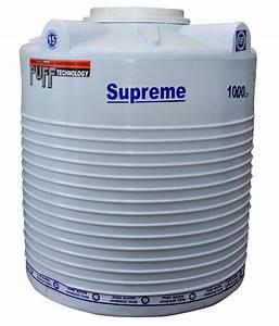Buy Supreme White Plastic Water Tank