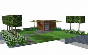 Solarbeleuchtung Für Garten : moderner sichtschutz f r garten elegant spalierb ume ~ Sanjose-hotels-ca.com Haus und Dekorationen