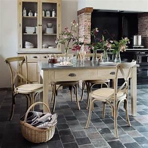 Küchen Und Esszimmerstühle : table d ner zinc wohnung home style k che k chen rustikal und k che landhausstil ~ Watch28wear.com Haus und Dekorationen