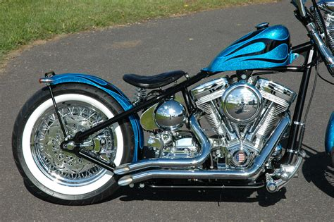 Santee 1 3/4 Kick Out Exhaust Drag Pipes Harley Softail