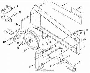 Snapper 401tcr  85028  4 Hp Front Tine Tiller Series 1 Parts Diagram For Drive