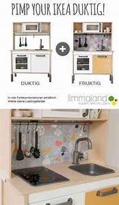 Ikea Hacks Kinder : ikea kinderk che hack einfaches makeover in vier farbkombinationen f r die duktig spielk che ~ One.caynefoto.club Haus und Dekorationen