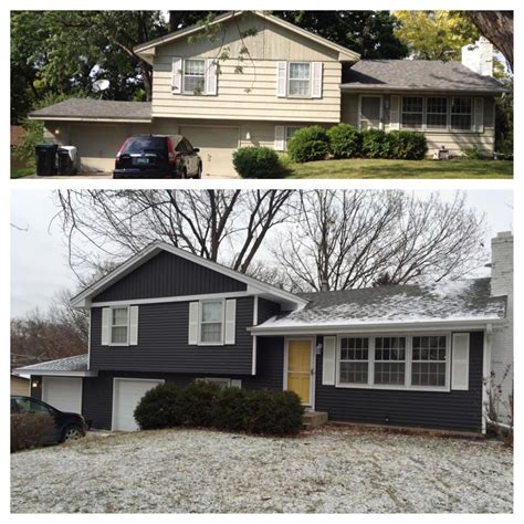 our split level siding makeover i had the hardest time