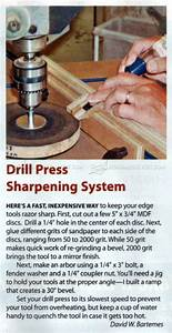 DIY Chisel Sharpening Jig • WoodArchivist