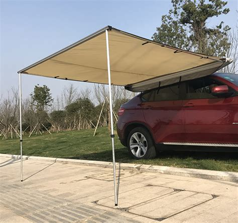 pop up cer awning 8 2 x8 2 vehicle rooftop awning tent suv shelter car side
