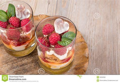 desserts with fresh raspberries fresh raspberry dessert with biscuit