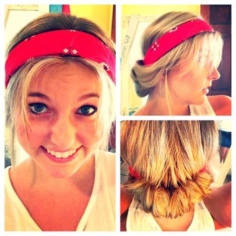 14 tutorials for bandana hairstyles pretty designs