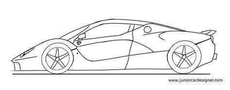 ferrari enzo sketch how to draw a ferrari laferrai junior car designer