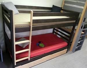Barriere Lit Superposé : lit superpose bois ~ Premium-room.com Idées de Décoration
