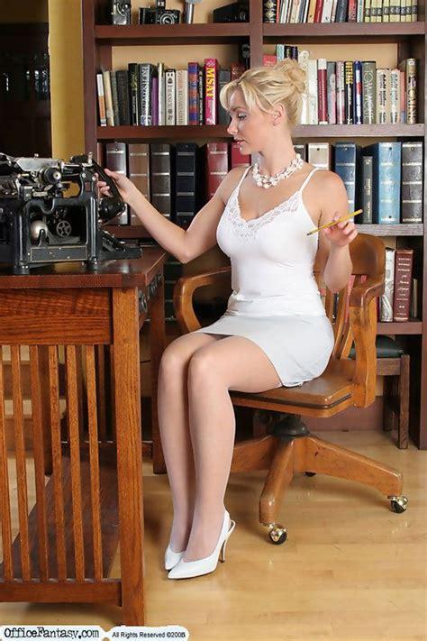 Miss Jones Librarian Upskirt
