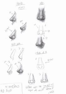 Human Nose Tutorial By Wannasleep On Deviantart