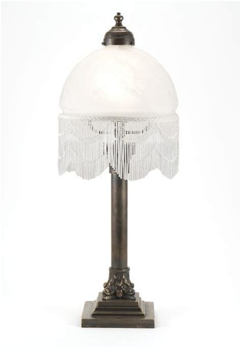 glass beaded l shades luxury lighting column l with beaded alabaster white