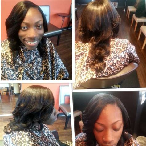 14 Inch Sew In Weave Hairstyles by 12 Inch Sew In Weave With Curls Yelp
