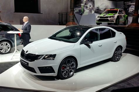 skoda octavia vrs facelift prices  specs