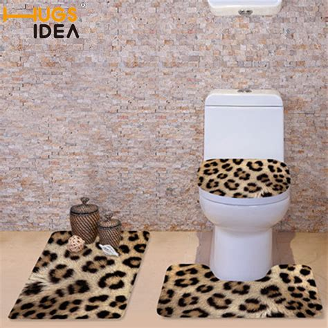 popular leopard bathroom set buy cheap leopard bathroom set lots from china leopard bathroom set
